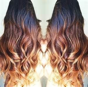 honey brown hair with ombre wavy black brown honey blonde ombre clip in hair