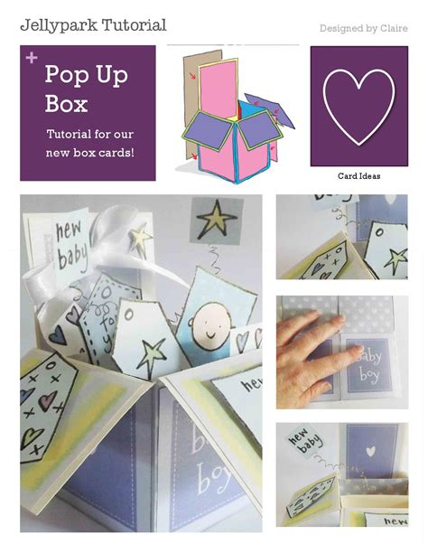 pop up card tutorials and templates pop up box card tutorial by keay issuu