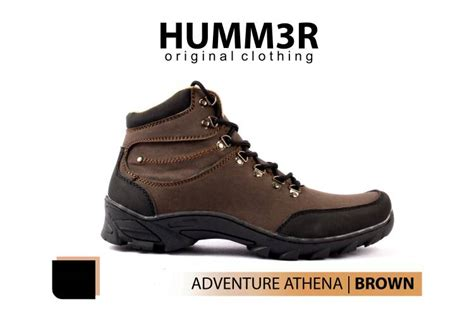 Sepatu Boots Pria Hummer Athena Boots jual hummer athena brown bare foot shoe store