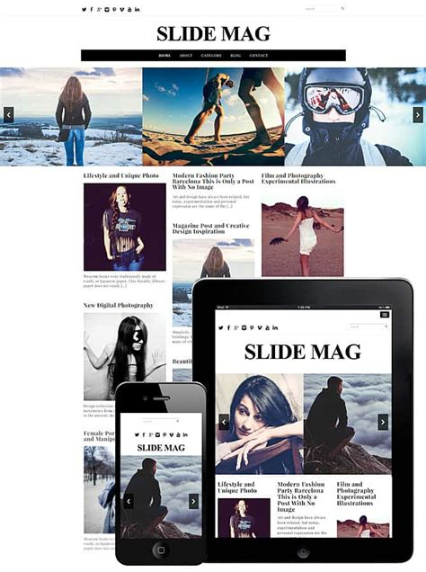 69 best responsive free wordpress themes with slider slide mag wordpress theme best wordpress themes for