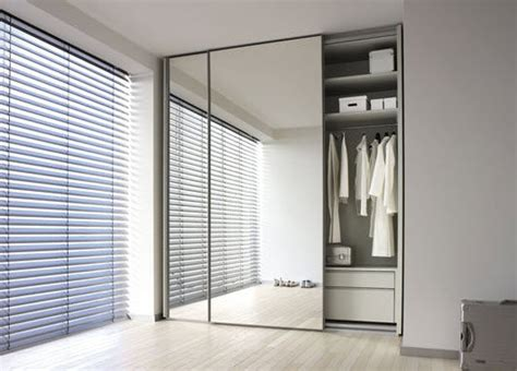 Mirrored Sliding Door Wardrobe by Walk In Wardrobe Planning Home