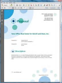 commercial real estate broker proposal