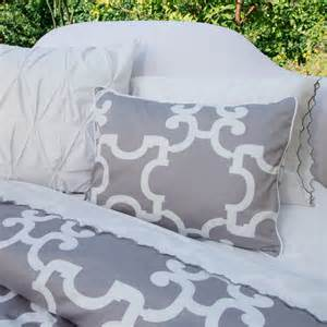 geometric print duvet cover the noe gray modern duvet covers and duvet sets san francisco