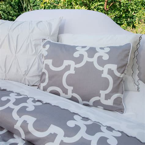 Modern Print Duvet Covers geometric print duvet cover the noe gray modern duvet covers and duvet sets san francisco