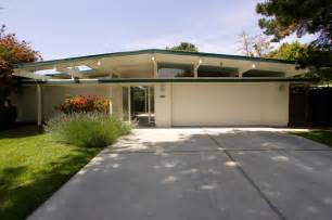 Exterior Paint Schemes For Ranch Homes - eichler kitchen amp garage midcentury exterior