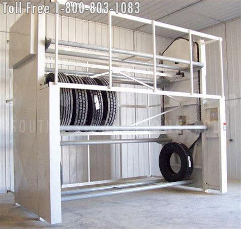motorized tire storage carousels san antonio storing tires   space laredo