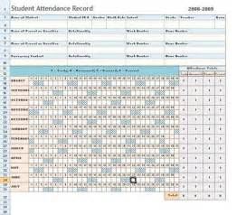 Attendance Sheet Template Excel by Attendance Sheet Excel Template Daily Microsoft