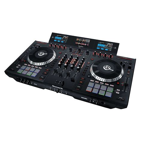 Mixer Monitor Audio 8 Chanel numark ns7iii 4 channel motorized serato dj controller