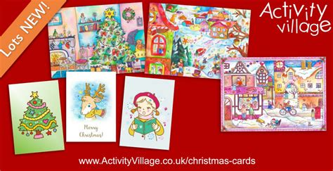 printable christmas cards activity village gorgeous new christmas cards to print