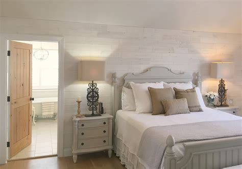 Hamptons Home Decor diy stikwood wood plank statement wall in our bedroom