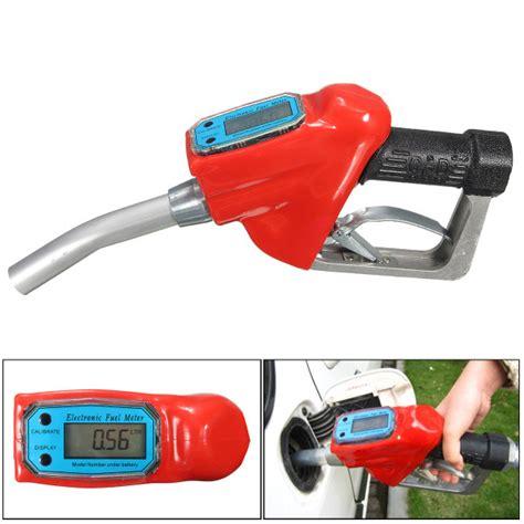 Bengas 3 4 Automatic Fuel Nozzle With Flowmeter auto motorcycle fuel gasoline petrol delivery gun 1 nozzle dispenser with flow meter alex nld