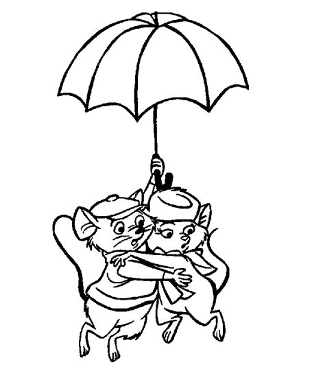 The Coloring Pages the rescuers coloring pages coloringpages1001