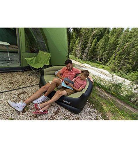 Vango Inflatable Camping Sofa Green Black Wholesale Scout