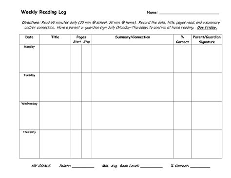 reading log with summary template search results for reading log template with summary