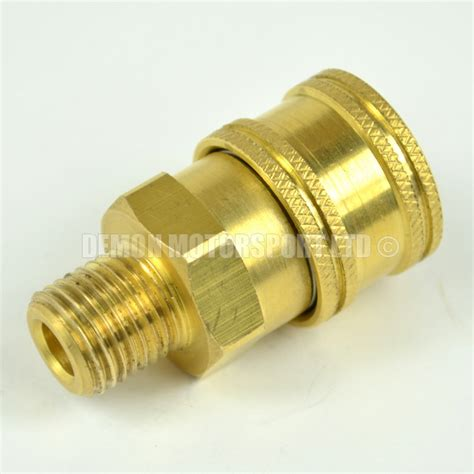 Fitting Reusable 6mm pressure washer release mini 11 6mm to 1 4