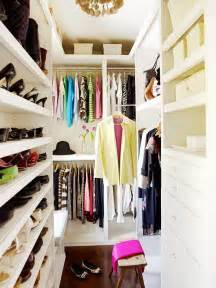 Small Spaces Walk In Closet by Organizing Ideas Closets