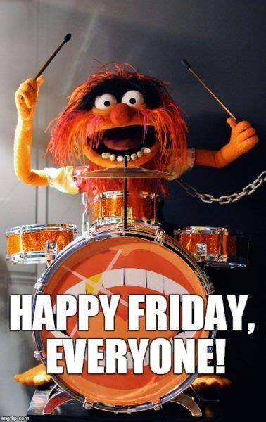 god  friday friday  drums animal muppet