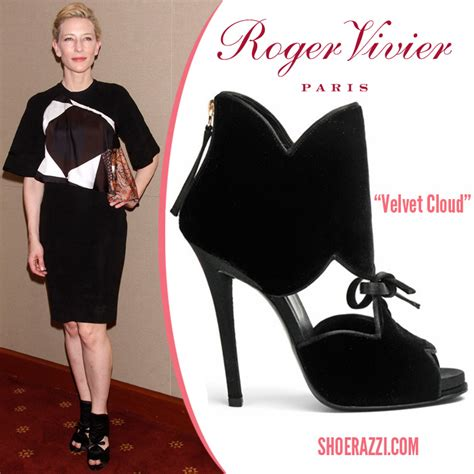 Cate Blanchett And The Of Roger Vivier Shoes by Cate Blanchett In Roger Vivier