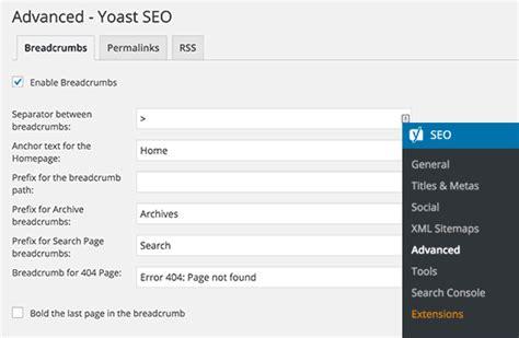enfold theme yoast breadcrumbs how to display breadcrumb navigation links in wordpress