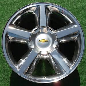 Chevrolet 20 Wheels Oem Wheels Direct Chevy Avalanche Tahoe Suburban Polished