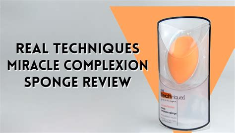 Promo Real Techniques Miracle Complexion Sponge real techniques miracle complexion sponge review