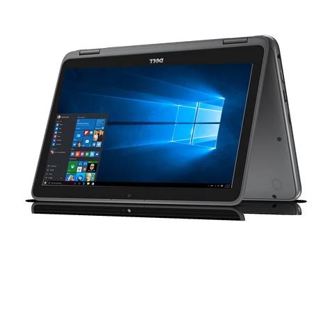 amazon laptops amazon com dell i3168 3272gry 11 6 quot hd 2 in 1 laptop