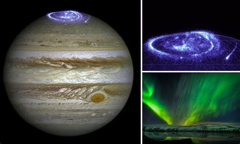 What Causes The Northern Lights Hubble Captures Mysterious Aurora The Size Of Earth Over