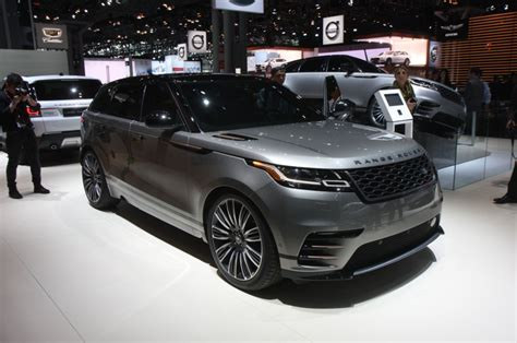 updated 2018 range rover velar completes four model lineup