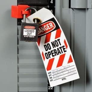 standard form for lockout tagout procedures bizfluent