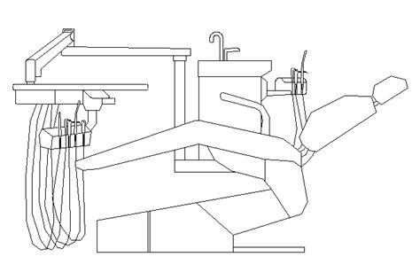 poltrone dentista bloques cad autocad arquitectura 2d 3d dwg