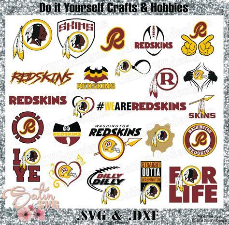 washington redskins design set  svg files nfl football