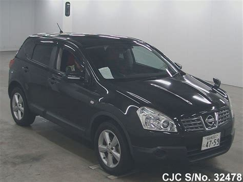 nissan dualis black 2007 nissan dualis black for sale stock no 32478