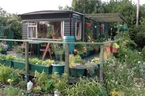 backyard mobile home permaculture