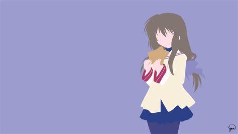 clannad anime website fuko ibuki clannad minimalist wallpaper by greenmapple17