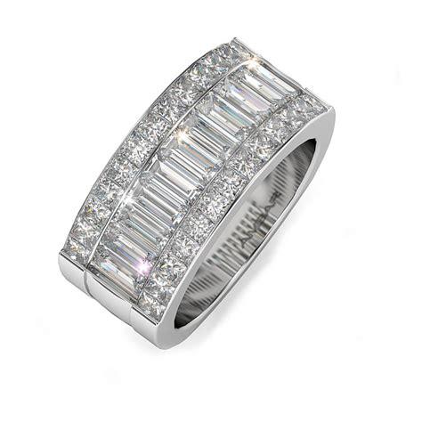 Wedding Bands Baguette Diamonds by Quadrillion Baguette Wedding Band