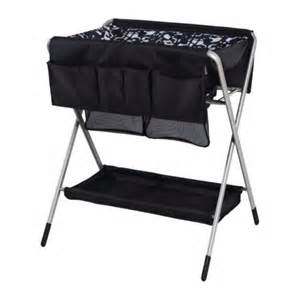 Black Baby Changing Table Foldable Changing Table For Baby Homesfeed