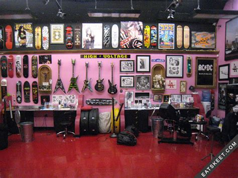 la ink tattoo shop anitaecraftygirl high voltage shop
