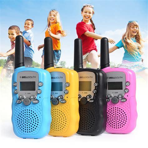 Mainan Anak Children Walkie Talkie 1 Pair 2pcs 2pcs lot 0 5w portable walkie talkie t 388 blue children small mini uhf 462 467mhz