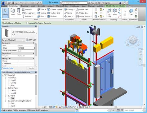 elevator drawings amp bim models for thyssenkrupp cene