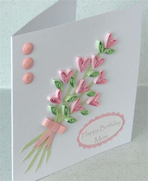 Paper Cards - best 25 quilling birthday cards ideas on