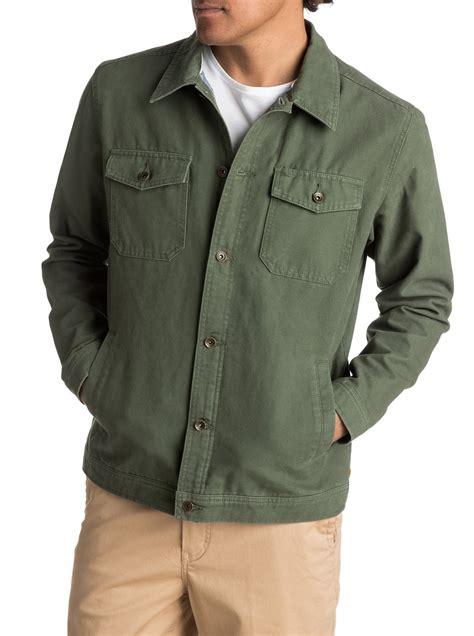 Button Jacket waterman tradie button up coat eqmjk03003 quiksilver