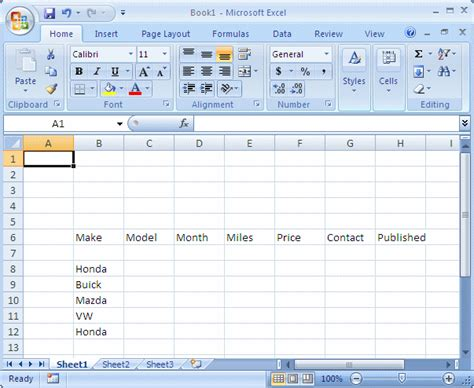 microsoft excel tutorial lesson 8 introduction to data entry