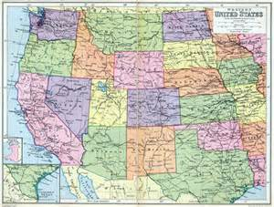 Map Western United States by Map Of Western States Related Keywords Amp Suggestions Map