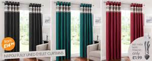 B amp m curtains blinds amp accessories online from b amp m stores