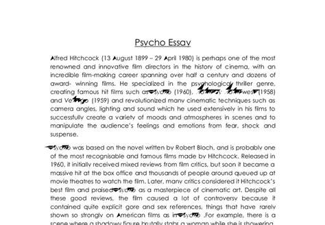 psycho essay psycho essay shower analysis in stark black and white the psycho portrays