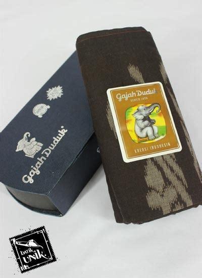 Sarung Gajah Duduk 4000 Benang Fshn Muslim sarung tenun gajah duduk 4000 spesial motif kalimantan dua sarung murah batikunik