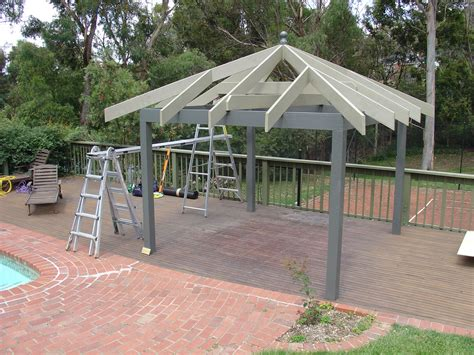 building a backyard pavilion diy backyard gazebo write teens