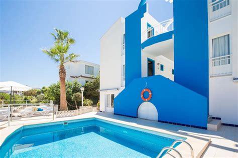 apartamentos cisne blanco menorca estel blanc apartments adults cala en blanes spain