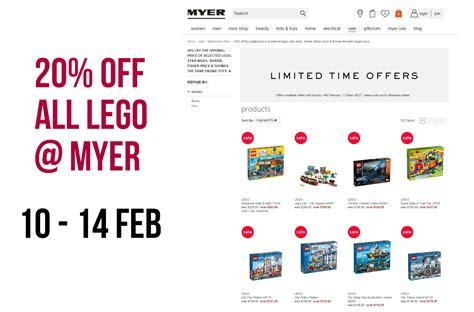 lego boat myer australian lego sales february 2016