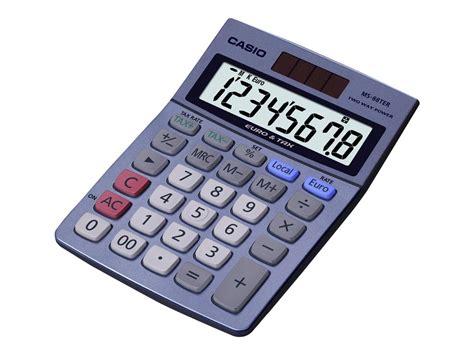 calcolatrice casio casio ms 88ter calculatrice de bureau calculatrices de